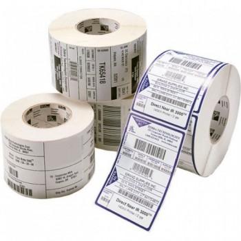 Etiquetas Compativeis ZEBRA - 76.2mm x 25.4mm 2000un Papel térmico