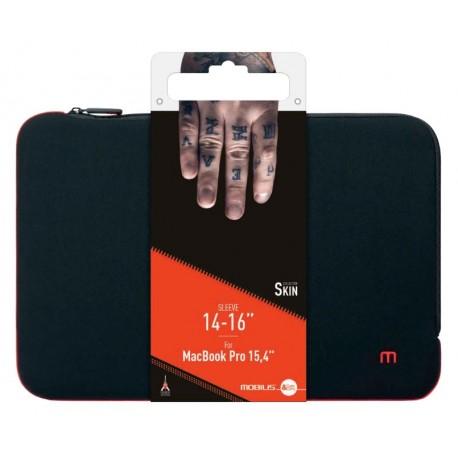 Bolsa MOBILIS Skin Sleeve 14-16'' Preto/Vermelho