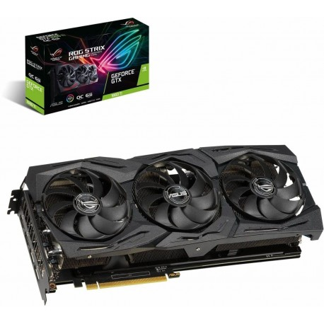 Placa Gráfica Asus GeForce GTX 1660 Ti ROG Strix 6GB OC GDDR6 (PCI-E) - 90YV0CQ0-M0NA00