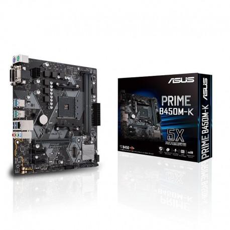 Motherboard Asus Prime B450M-K - 90MB0YP0-M0EAY0