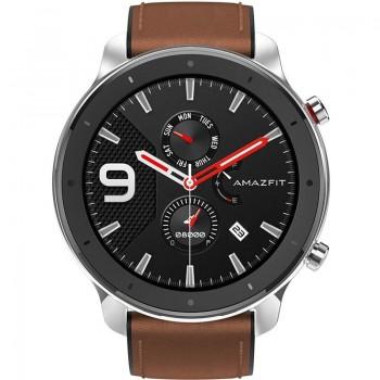 """Smartwatch Amazfit GTR 1.39"""" 47mm Aço Inoxidável"""