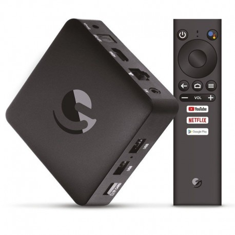 Box Android TV 9.0 Engel EN1015K  2GB/8GB/4K UHD