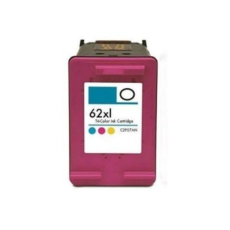 Tinteiro HP 62XL C2P07A Tri-Color Compatível