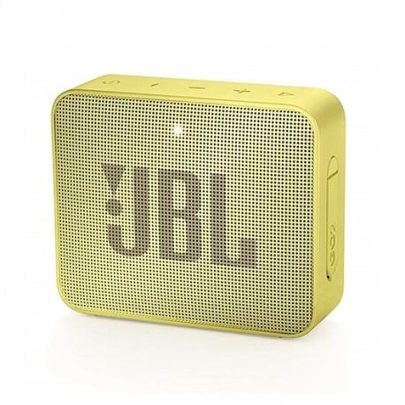 Coluna Portátil JBL GO 2 Bluetooth 3W c/ Microfone 5h Amarelo