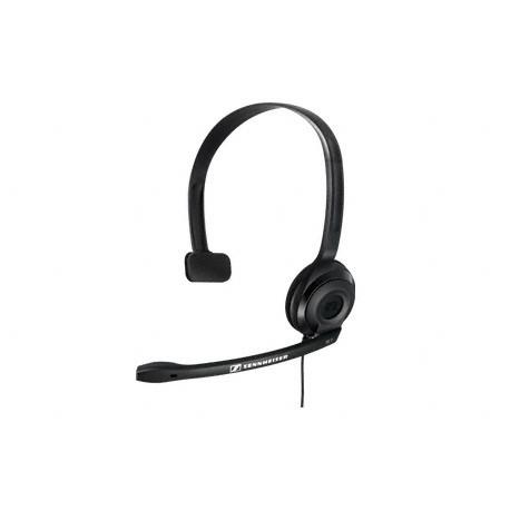 Auscultadores SENNHEISER PC Headset 17000Hz,95dB cabo2m, 2 Jacks 3.5mm c/Supr.Ruido-SENNHPC2C