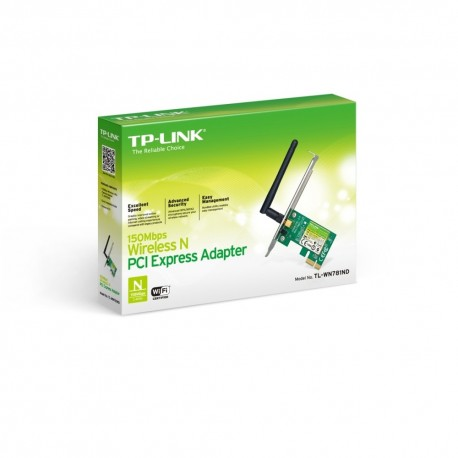 Placa Rede TP-Link Wireless N 150Mbps PCI-e