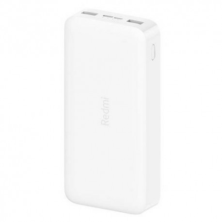 Power Bank Xiaomi Redmi 2 20000mAh 18W Fast Charge White - VXN4285GL