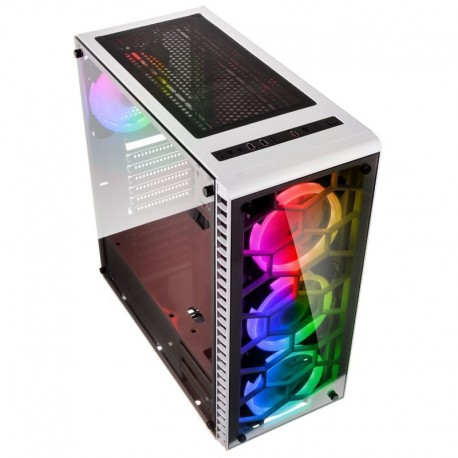 Kolink Caixa ATX Observatory RGB Vidro Temperado - Branco