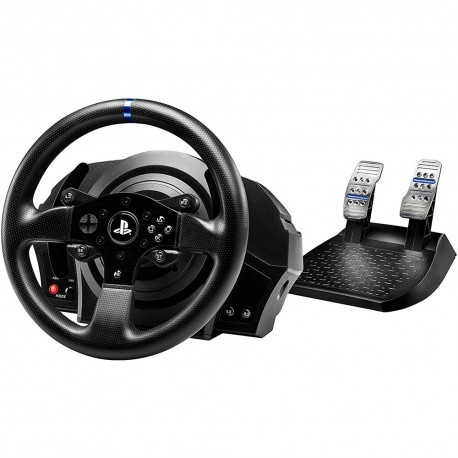 Volante + Pedais Thrustmaster T300 RS Leather - PS4 / PS3 / PC