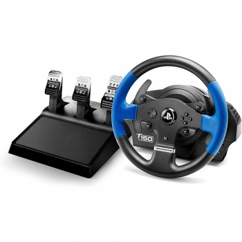 Volante + Pedais Thrustmaster T150 RS PRO - PS4 / PS3 / PC