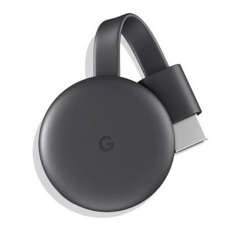 Google Chromecast 3 TV Streaming Preto