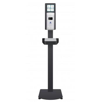 Zonerich Dispensador Automático de Álcool Gel c/ Suporte de Chão