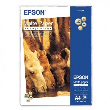 Epson 50 un. Fls Papel A4 Matte Inkjet 167g