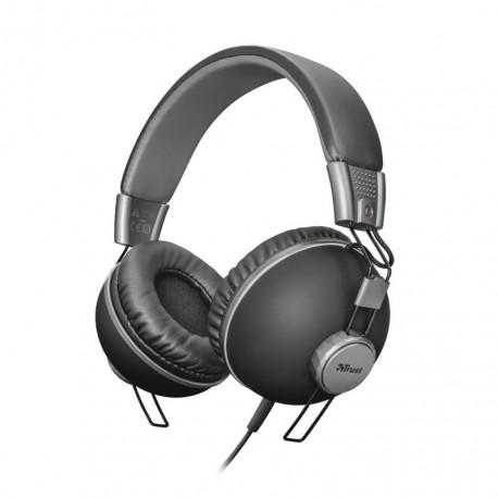Headphones Trust Noma Preto