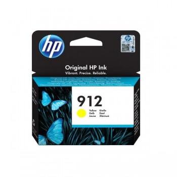 Tinteiro HP 912 Amarelo Original