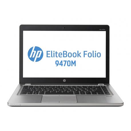 "Portátil HP EliteBook Folio 9470m | i5 3437U | 8GB DDR3 | 256GB SSD | 14"" 1366 x 768 - Recondicionado Grade A"