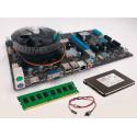 Kit Mining HM76-65 Esonic BTC COMBO   Intel Celeron B980   4GB DDR3   SSD 120Gb