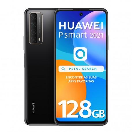 "Smartphone Huawei P Smart 2021 6.67"" 4GB/128GB Dual SIM Preto"