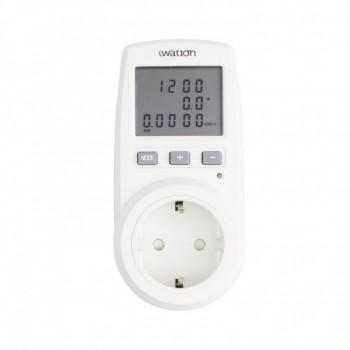 Medidor controlador de consumo eléctrico - 16A - 3680W