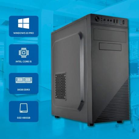 Desktop i5 16GB 480 SSD c/ Windows 10 PRO