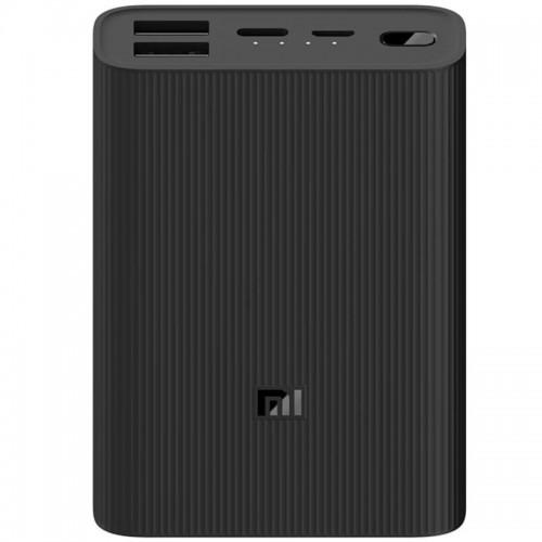 Powerbank Xiaomi Mi Power Bank 3 Ultra Compact 10000mAh Preta