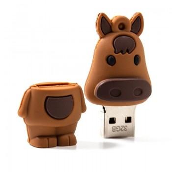 PenDrive COOL Silicone 32GB - Cavalo