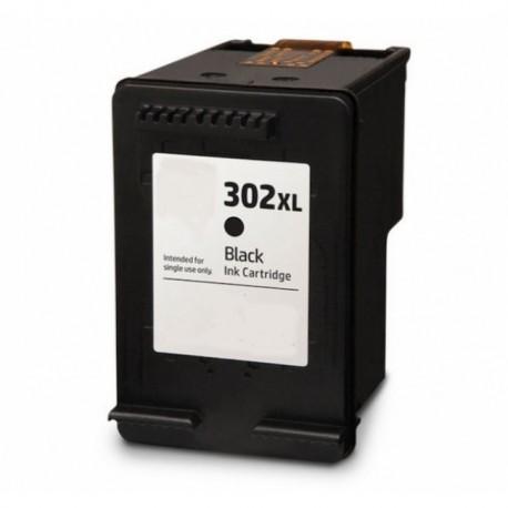 Tinteiro Compativel  HP 302 XL Preto (F6U68AE)