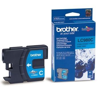 Tinteiro Original Brother LC980 Azul