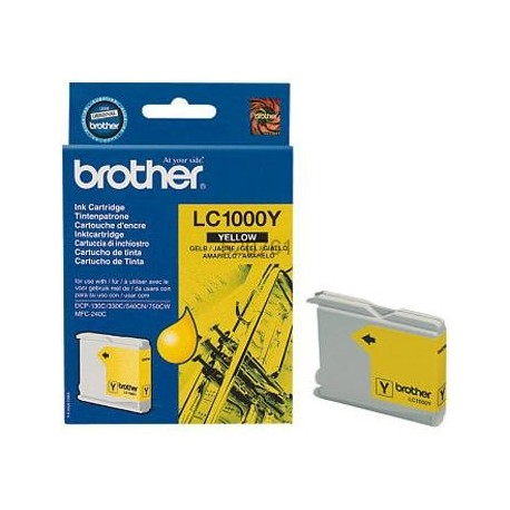 Tinteiro Original Brother LC1000Y