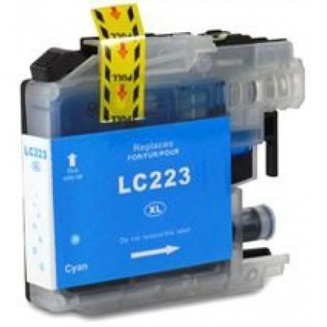 Tinteiro Brother Compatível LC221 / LC223 XL (V2) Azul