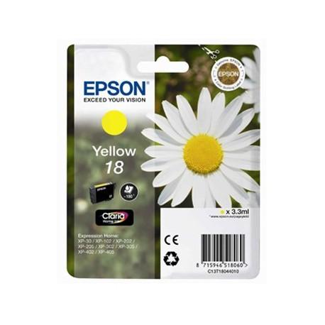 Tinteiro Original Epson Nº18 Amarelo