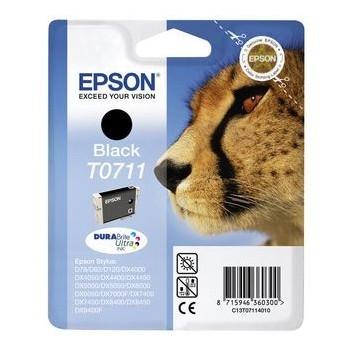Tinteiro Original Epson T0711 Preto