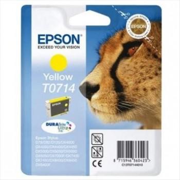 Tinteiro Original Epson T0714 Amarelo