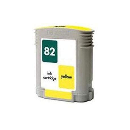 Tinteiro Compatível HP 82 Amarelo