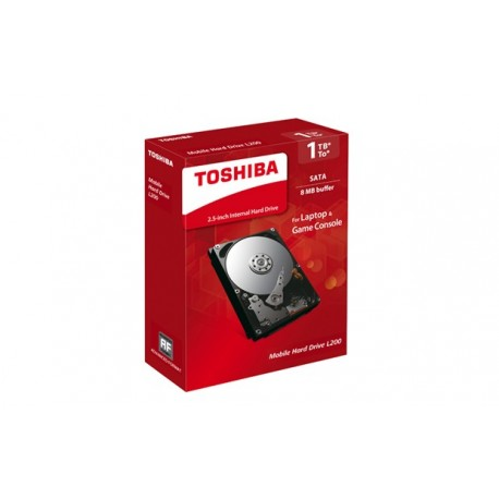 Toshiba 1TB L200 2.5 5400rpm SATA II