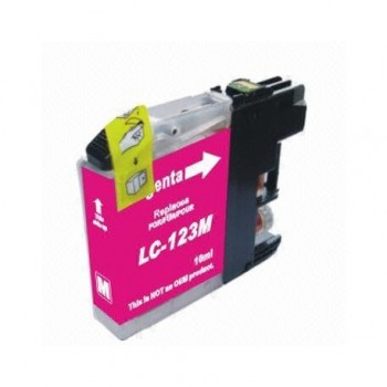 Brother LC121 / 123M Magenta XL