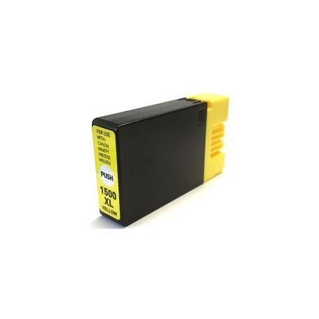 Tinteiro Compatível Canon PGI1500XL Amarelo