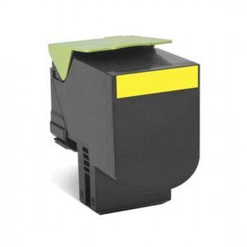 Toner compatível Lexmark 702HY Amarelo