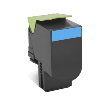 Toner compatível Lexmark 702HC Azul