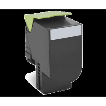 Toner compatível Lexmark 802SK Preto