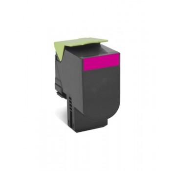 Toner compatível Lexmark 802SM Magenta