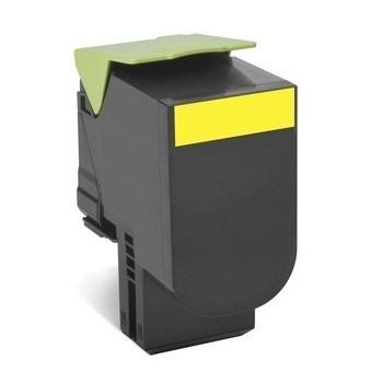 Toner compatível Lexmark 802SY Amarelo