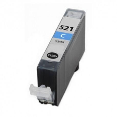 Tinteiro Compatível Canon CLI-521C Azul