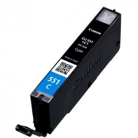 Tinteiro Compatível Canon CLI-551C XL Azul