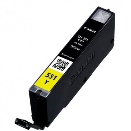 Tinteiro Compatível Canon CLI-551Y XL Amarelo