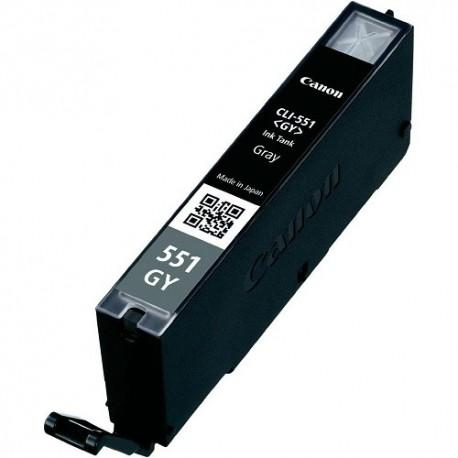 Tinteiro Compatível Canon CLI-551GY XL Cinza