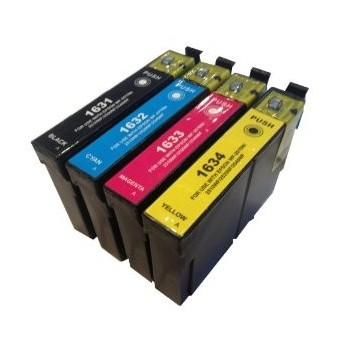 Pack 4 Epson 16XL T1631/2/3/4 (T1635)