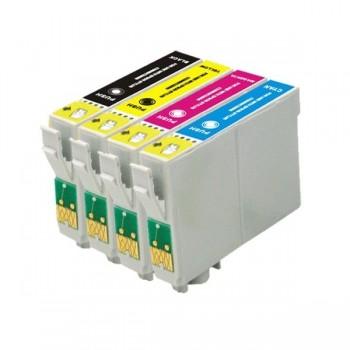 Pack 4 Compatíveis Epson T1291/2/3/4 (T1295)
