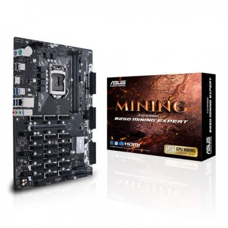 Asus B250 Mining Expert - 90MB0VY0-M0EAY0