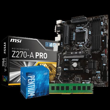 Mining Pro Kit 1151: MSI Z270A-PRO | Intel G4400 | 4GB DDR4